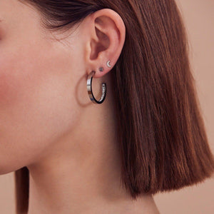 MONACO EARRINGS SMALL ROSE GOLD