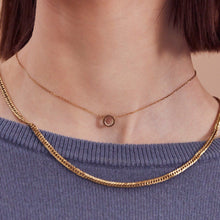 Load image into Gallery viewer, MONACO NECKLACE MINI ROSE GOLD
