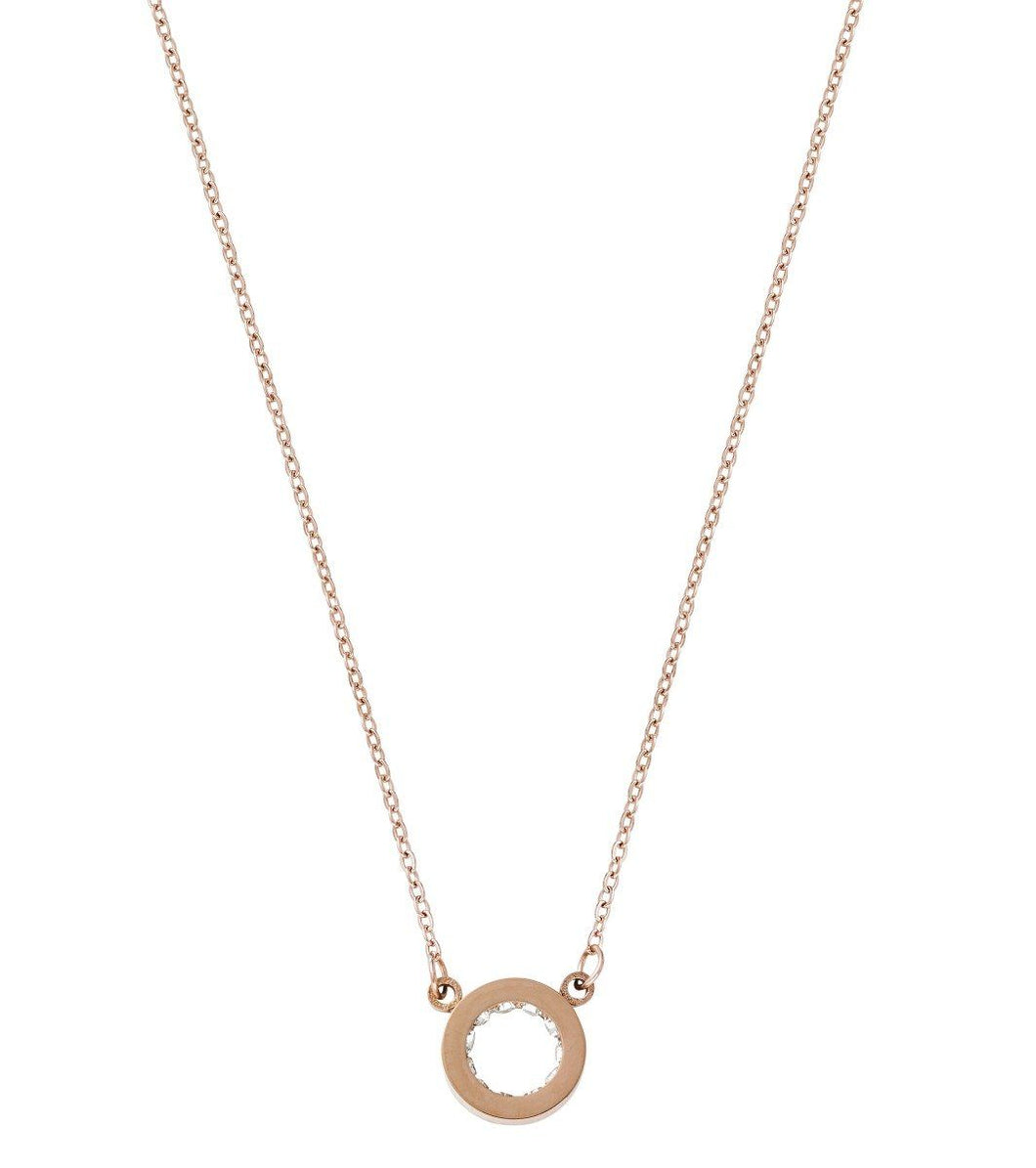 MONACO NECKLACE MINI ROSE GOLD