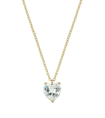 TIMELESS HEART NECKLACE GOLD