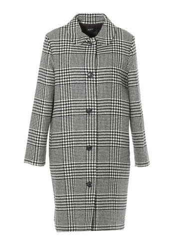 A.P.C. Houndstooth Straight Coat