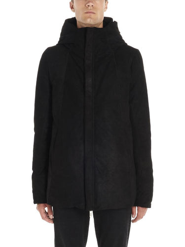 10sei0otto Hodded Straight Coat