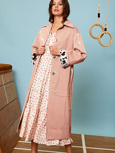 Gleam Trench Coat