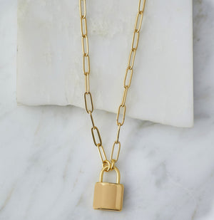 Natalie B.-Leni Lock Necklace