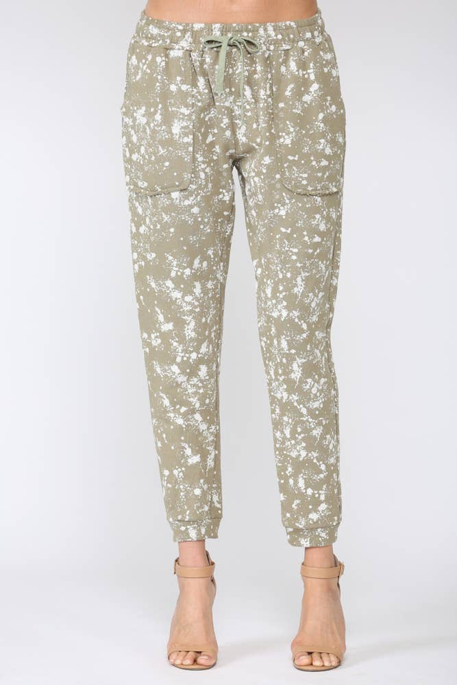 Fate- Paint Splatter Jogger