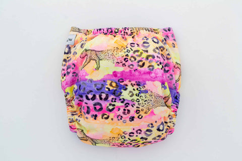 Crackadaks mini wet bag cherry blossoms pink