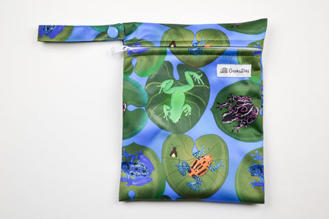 La De Da Frogs Mini Wet Bag