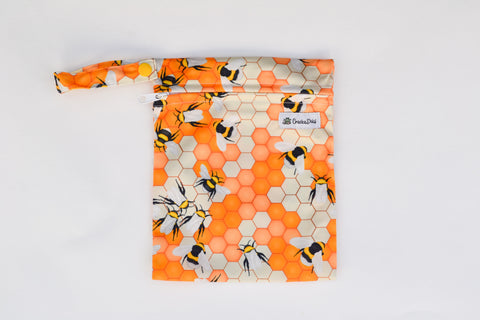 Oh Bee-Hive Mini Wet Bag