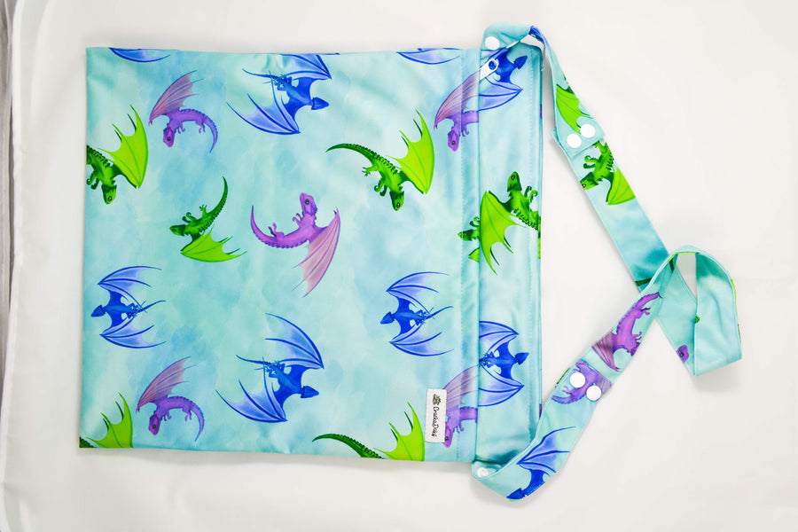 Fluff the Magic Dragon Wet Bag