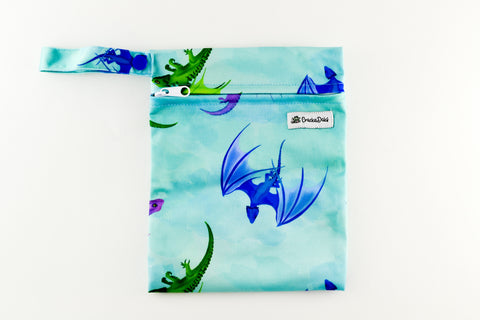 Fluff the Magic Dragon Mini Wet Bag