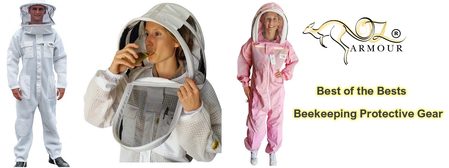 Oz Armour - Beekeeping Supplies - Protective Clothing - Jacket & Suit