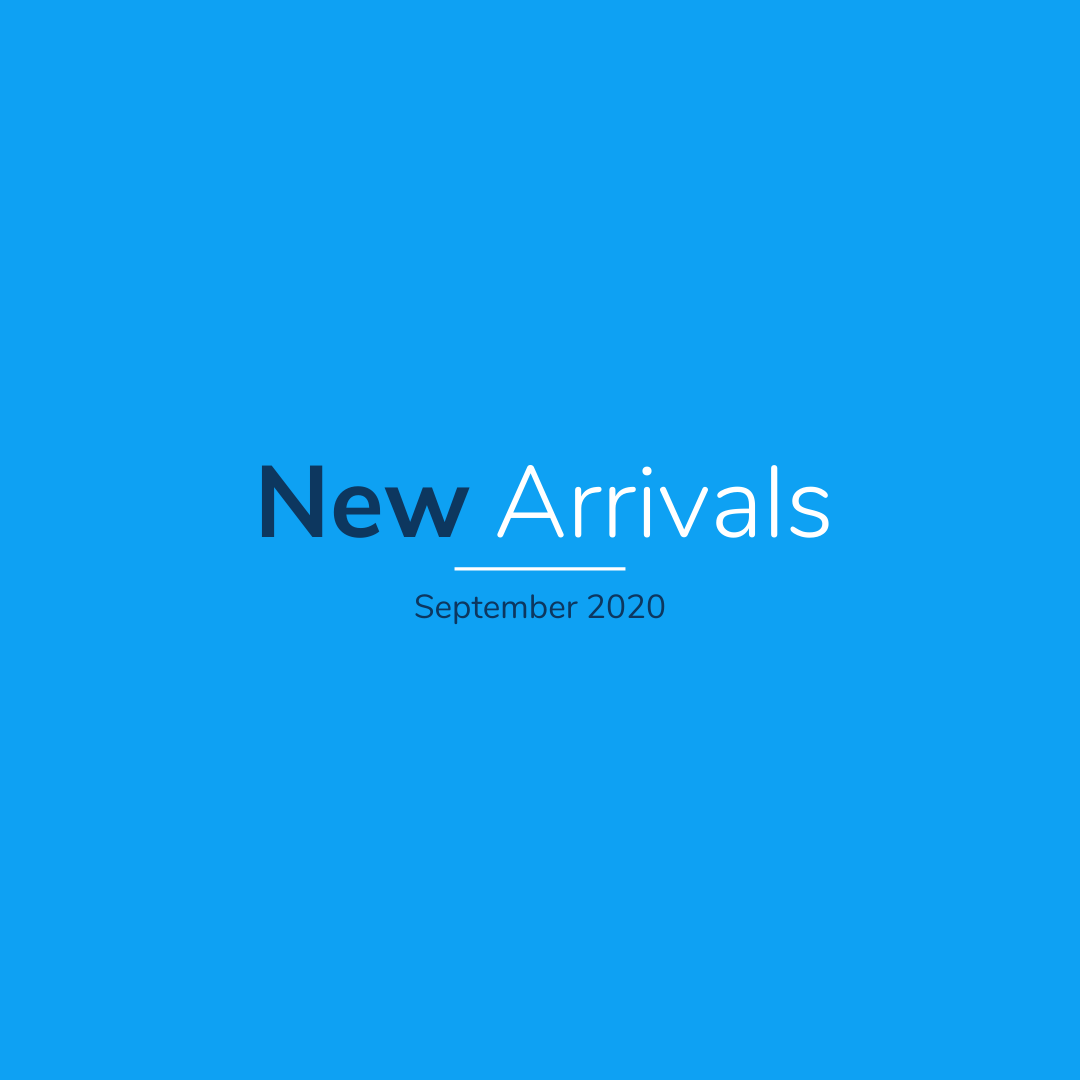 New Arrivals in September 2020