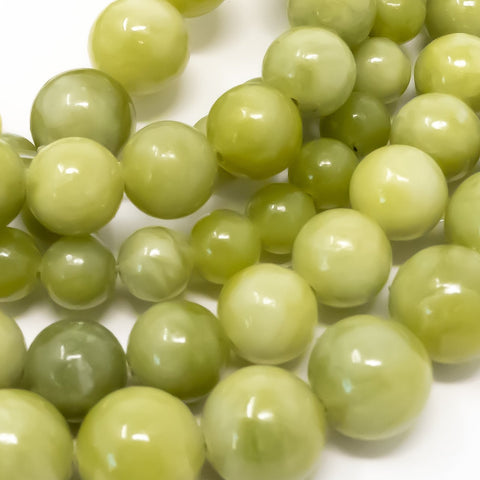 Peridot Gemstones in 6mm, 8mm and 10mm from Big Little Store