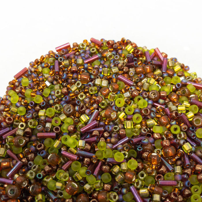 TOHO Seed Bead Multi Shape/Colour Mix. 15g Pack