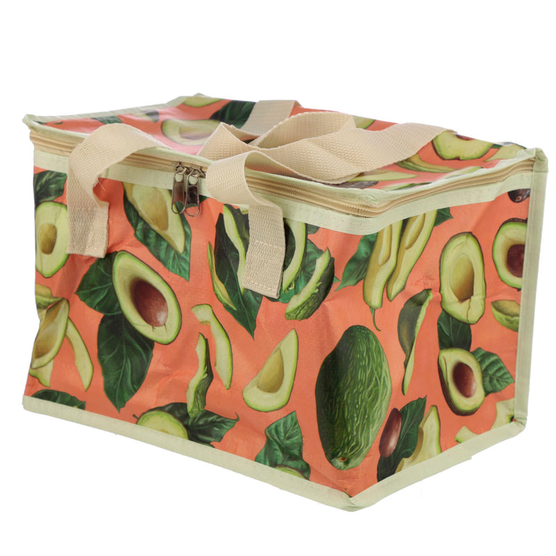Woven Picnic Cool Bag - Avocado