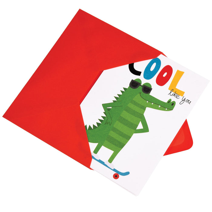COOL CROCODILE CARD