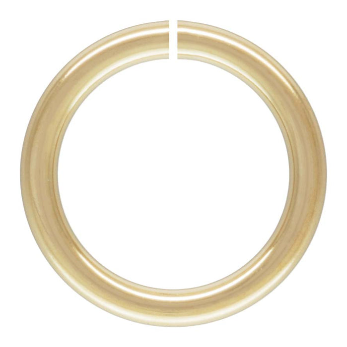 Click And Lock 5mm Jump Rings In 14 Carat Gold Fill. Packs Of 10.