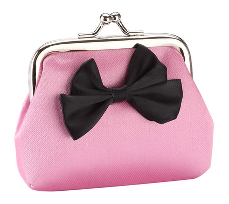 Fun Bright Bow Silk Purses in Red, Gold, Blue, Pink, Green, Purple, Yellow - bigigloo.co.uk  - 3