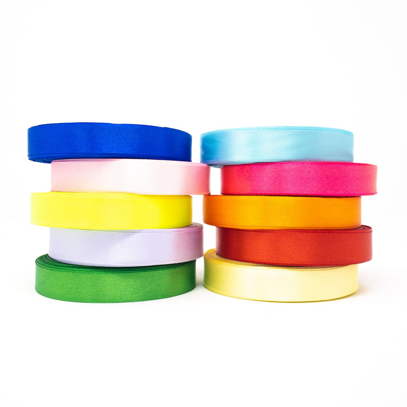 Satin Ribbon 16mm Wide Sold Per Metre