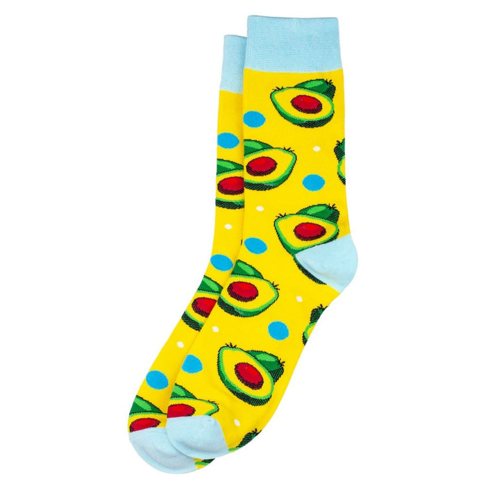 Women's Avocado Socks. UK Size 4-7.5-Euro 35-38-US 6-9.5.
