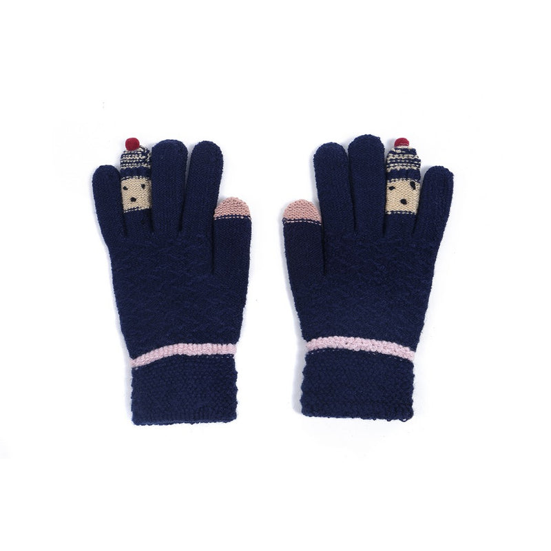 Stretchy Touchscreen Friendly Finger Puppet Gloves.  One Size