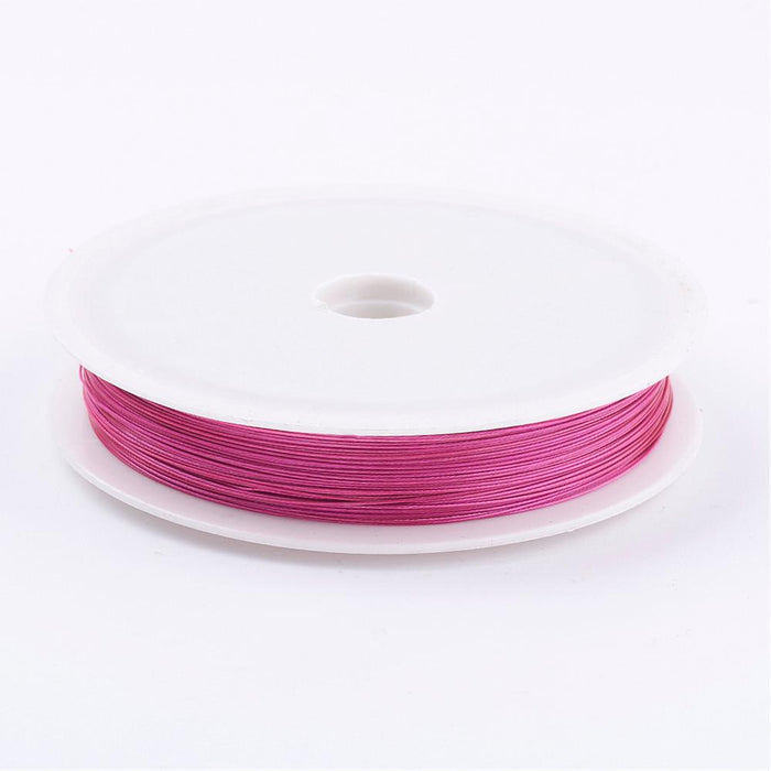 Tiger Tail Beading Wire. 0.38mm. Various Colours. Per Metre.