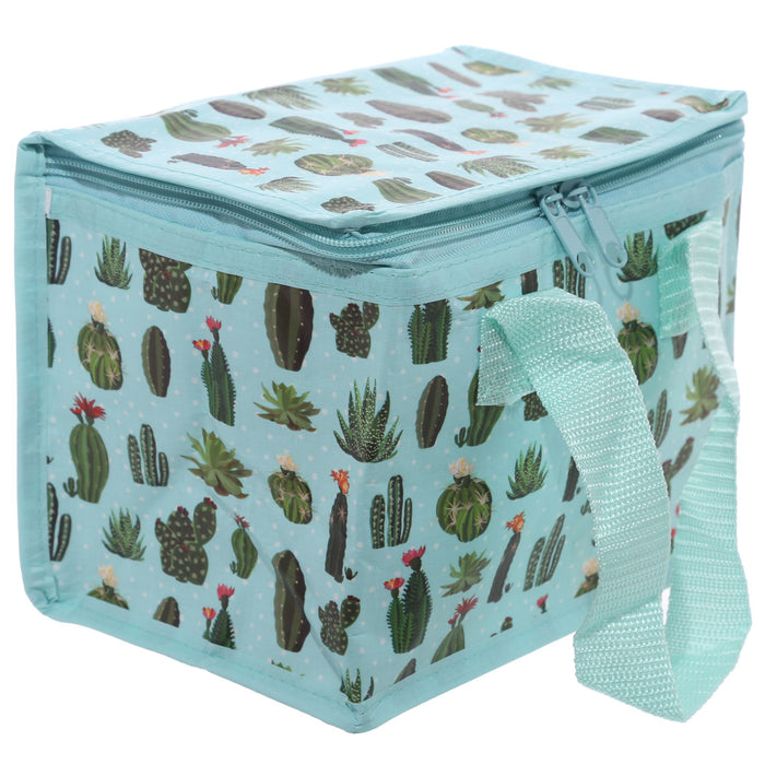 Woven Cool Bag Lunch Box - Cactus