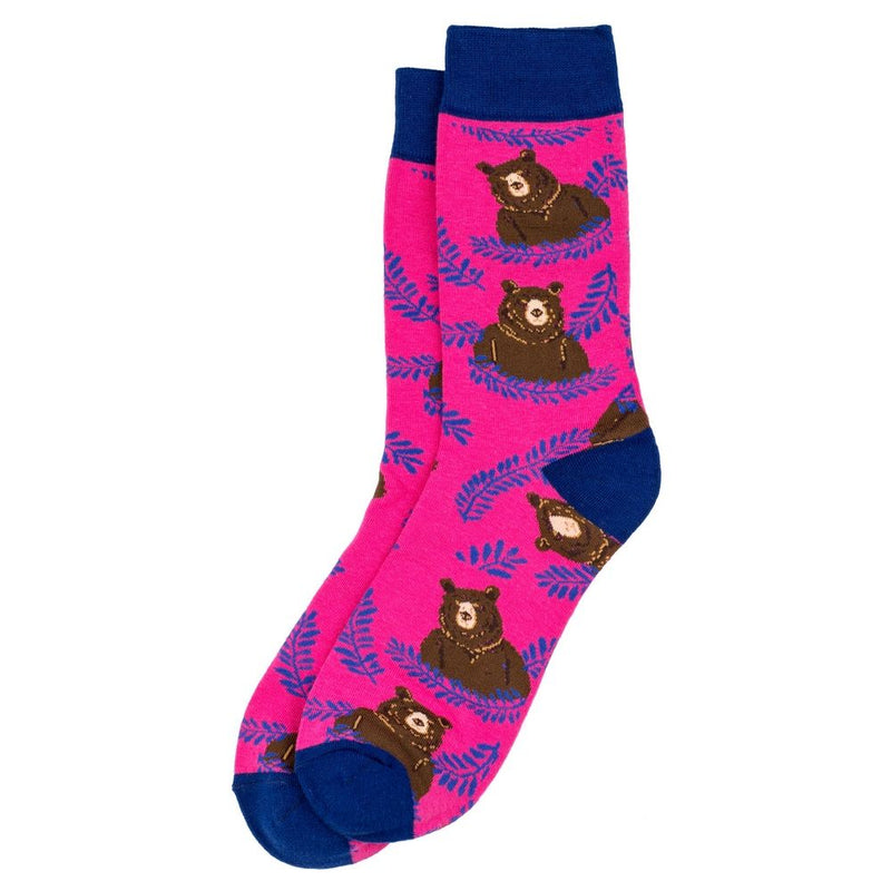 Women's' Pink Bear Socks
