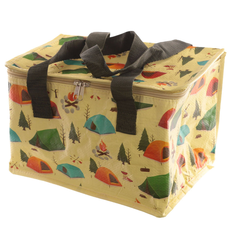 Woven Picnic Cool Bag - Camping Design