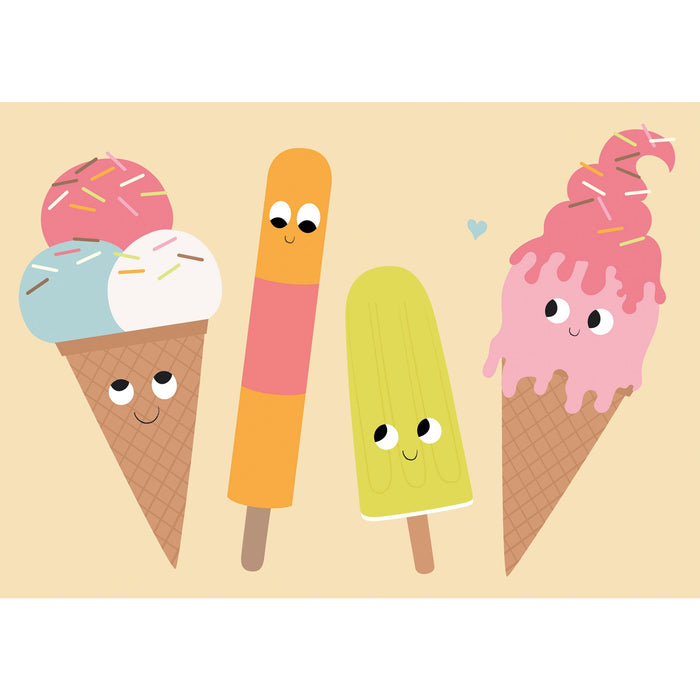 ICE CREAM FRIEND CARD