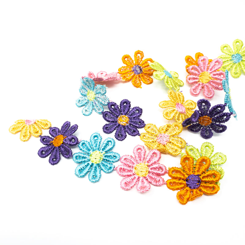 Flower Ribbon Per Metre
