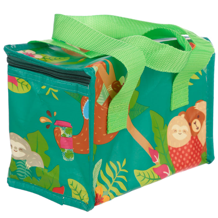 Woven Cool Bag Lunch Box - Just Hanging Around Sloth