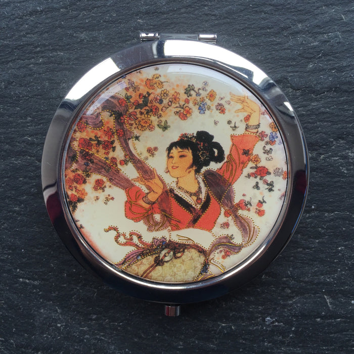 Geisha Compact Mirrors - bigigloo.co.uk  - 13