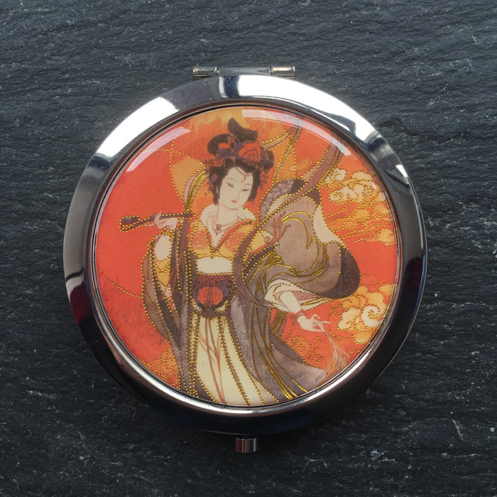 Geisha Compact Mirrors - bigigloo.co.uk  - 11