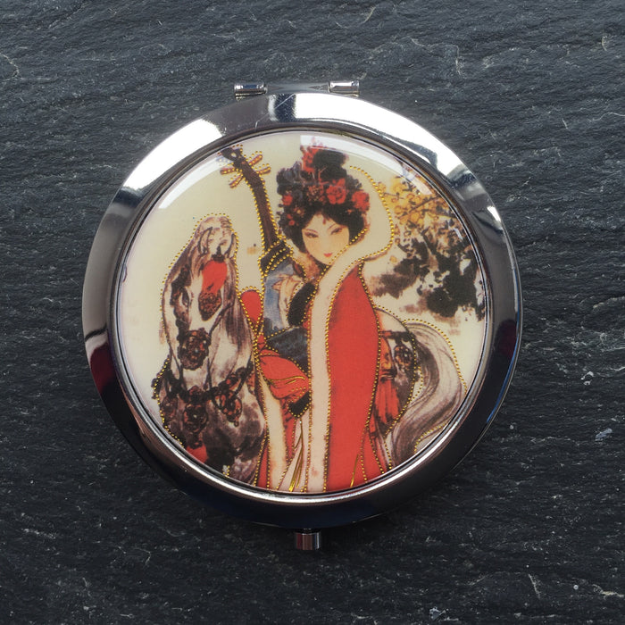 Geisha Compact Mirrors - bigigloo.co.uk  - 10