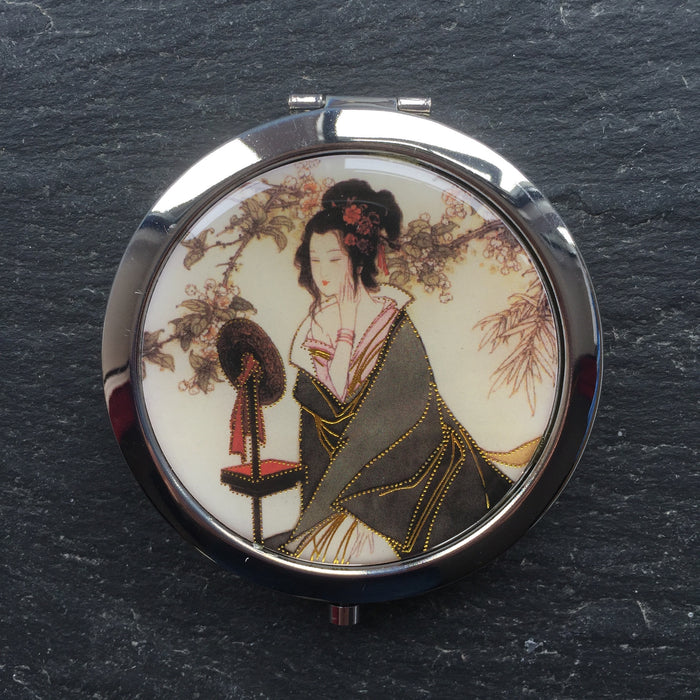 Geisha Compact Mirrors - bigigloo.co.uk  - 6