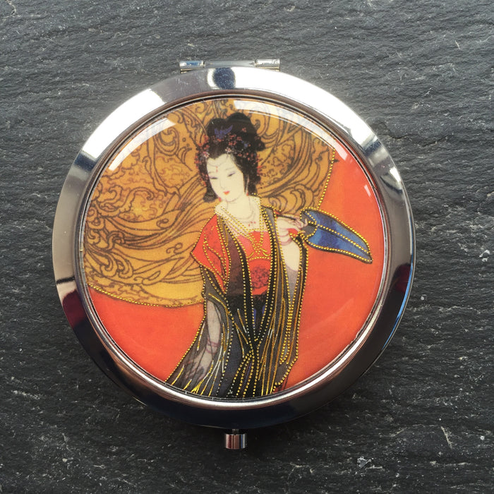 Geisha Compact Mirrors - bigigloo.co.uk  - 5
