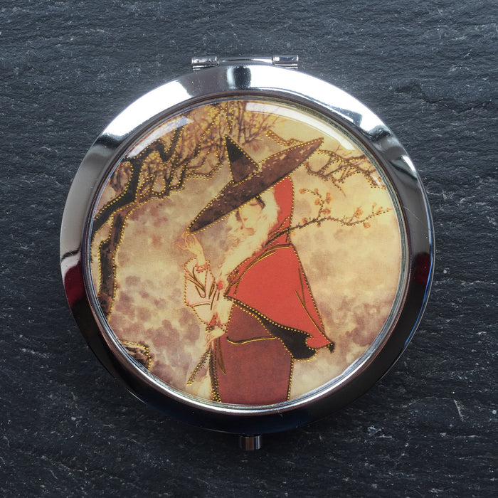 Geisha Compact Mirrors - bigigloo.co.uk  - 4