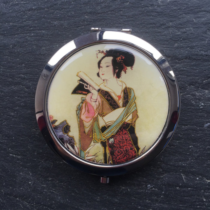 Geisha Compact Mirrors - bigigloo.co.uk  - 3