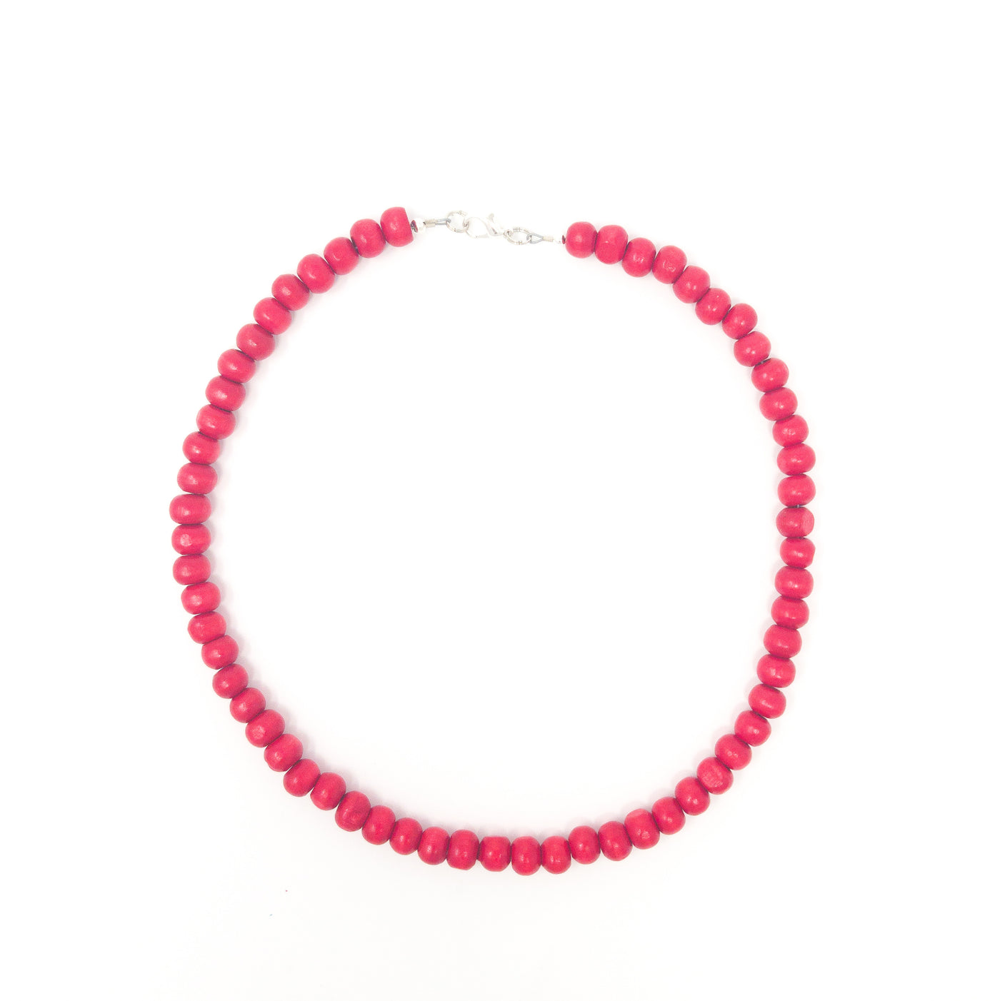 Blue And Pink Beaded Necklace And Bracelet Sets