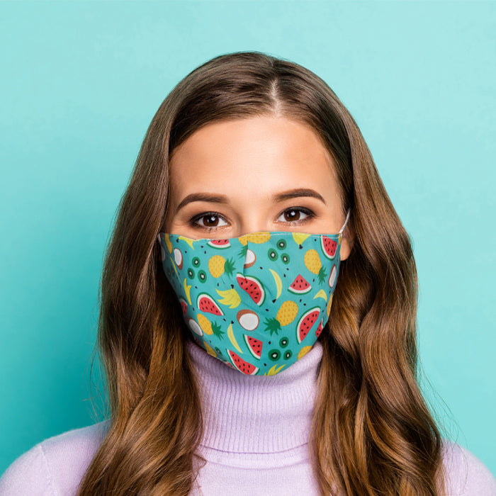 Fun Face Mask In 2 Sizes And 8 Designs. Great For Kids Over 4 Up To Adult Size