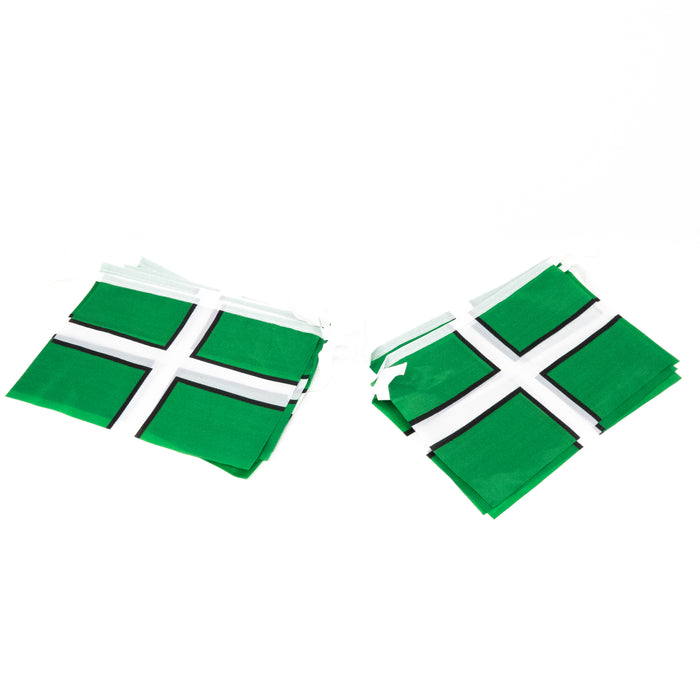 Devon Flag Bunting. 360cm/12'. 10 Flags Per Length.