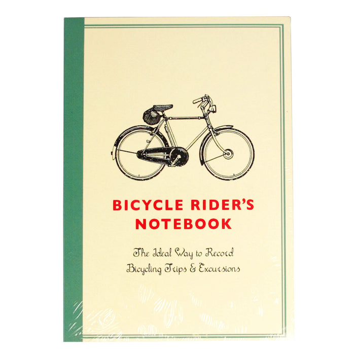 Bicycle Rider's A5 Notebook
