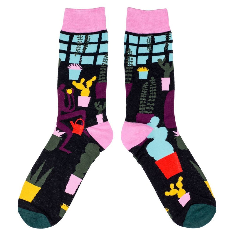 Women's Cactus Windowsill Socks
