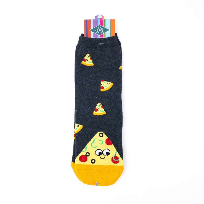 Junk Food Kawaii Womens' Socks. Cupcake, Pizza, Burger or Donut.  UK Size 4-7.5