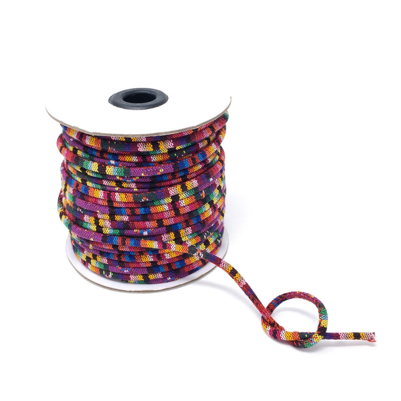 4mm Ethnic Rope Cord For Beads And Jewellery Making. Priced Per Metre.