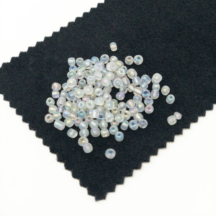 50g 3mm Size 8/0 Seed Beads-Over 1500 Beads.  Wide Choice Of Colours/Finishes.