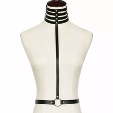 Load image into Gallery viewer, Multilayer Wide Neck Choker/Harness