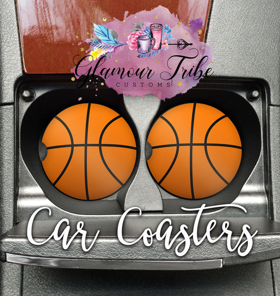 Basketball Car Coasters