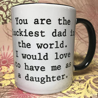 Lucky Dad/Mom mug